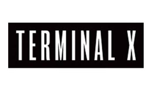 TERMINAL X - טרמינל איקס - לוגו - בלאק פריידי