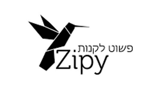 zipy זיפי לוגו בלאק פריידי